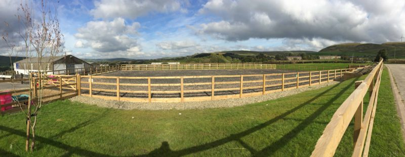 Fully Finished Outdoor Arena UK